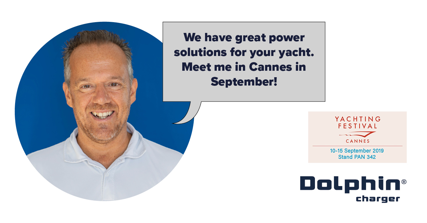 Nicolas Fata, head of Sales, Dolphin Charger (marine power units)