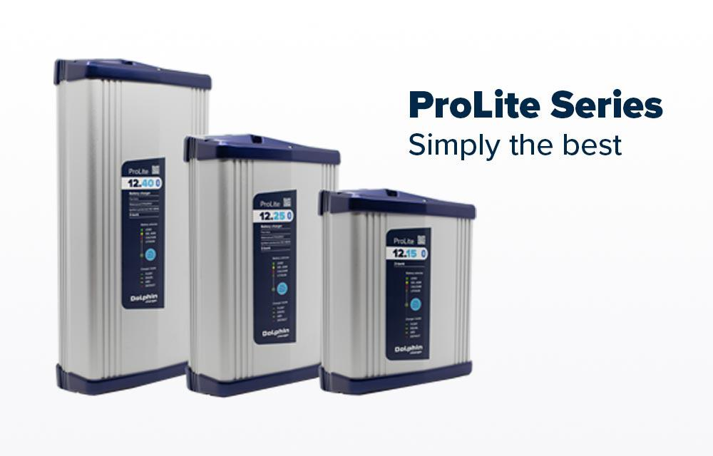 Dolphin Charger ProLite Series compact marine chargers